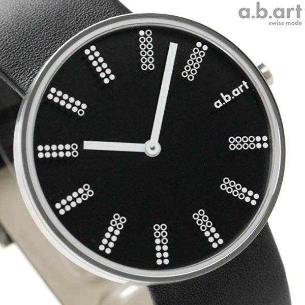 エービーアート 腕時計 DLシリーズ メンズ ブラック レザーベルト a.b.art DL402 時計