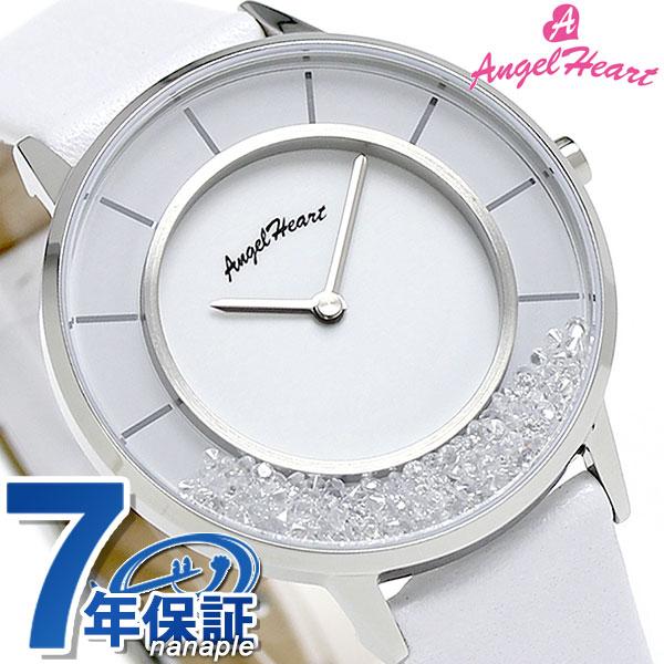 エンジェルハート ラブグリッター 限定モデル レディース LG36S-WH AngelHeart 腕時計 ホワイト 時計, December.12:5deebd6c --- graffiti-web.jp