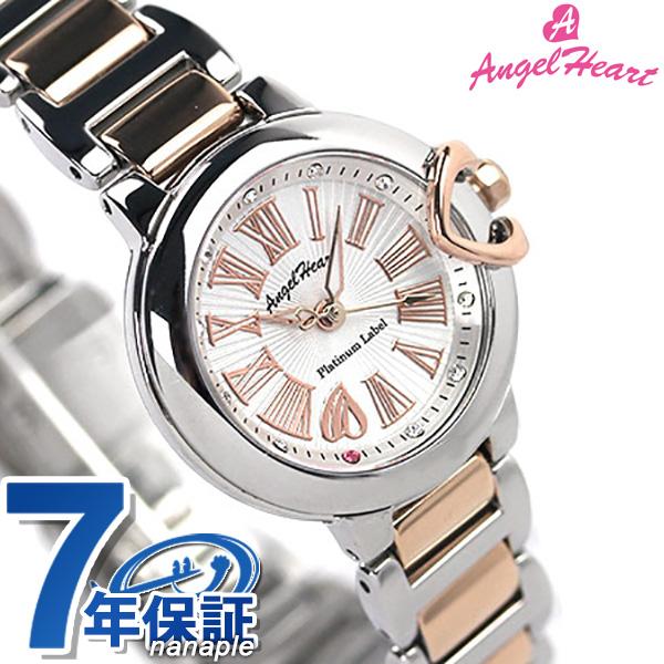 エンジェルハート プラチナムレーベル PTL25RSS AngelHeart レディース 腕時計 クオーツ シルバー×ピンクゴールド 時計
