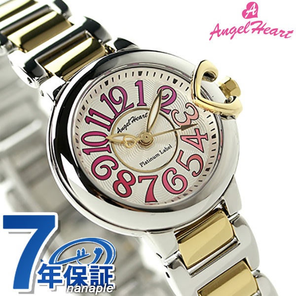 エンジェルハート プラチナムレーベル 限定モデル PTL25YPR Angel Heart レディース 腕時計 クオーツ シルバー×ゴールド 時計