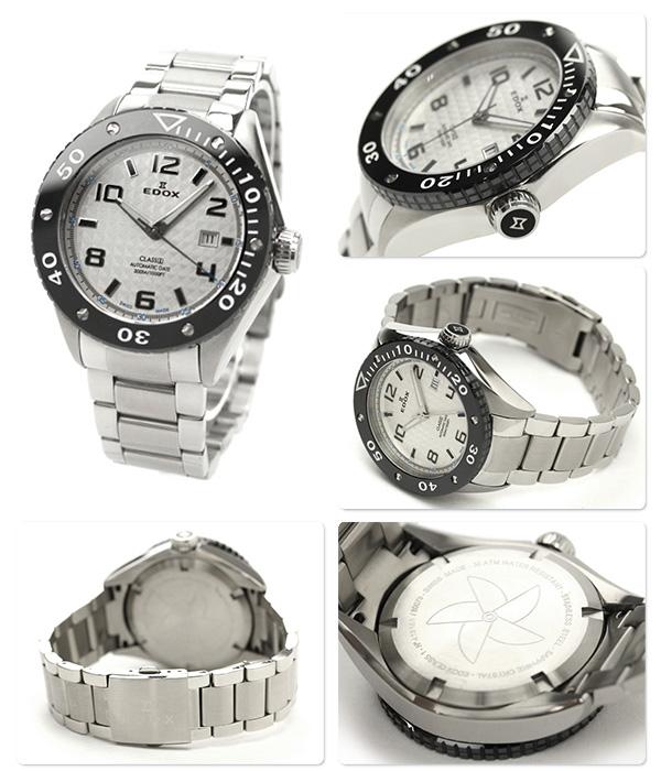 EDOX edokkusu手表等级一日期自动人银白色80079 3 AIN2