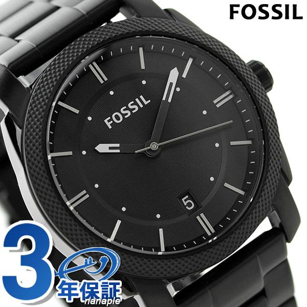 フォッシル マシーン クオーツ メンズ 腕時計 FS4775 FOSSIL オールブラック 時計【あす楽対応】