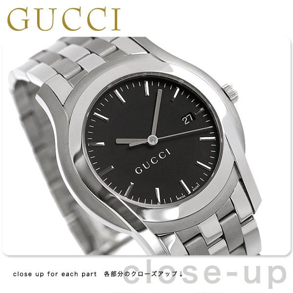 グッチ 時計 メンズ GUCCI 腕時計 Gクラス ブラック YA055211