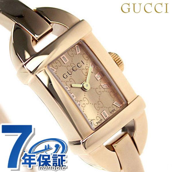 グッチ 時計 レディース GUCCI 腕時計 6800 ピンクゴールド YA068585