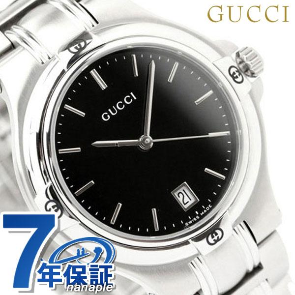 グッチ 時計 メンズ GUCCI 腕時計 9045 ブラック YA090304