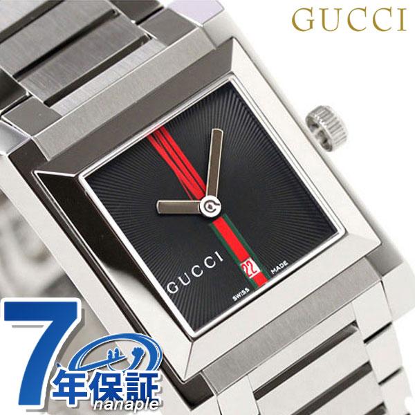 グッチ 時計 ボーイズ 111 アナログ ブラック GUCCI YA111402【あす楽対応】