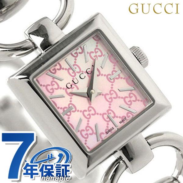 グッチ 時計 レディース GUCCI 腕時計 トルナブォーニ ピンクシェル YA120515【あす楽対応】