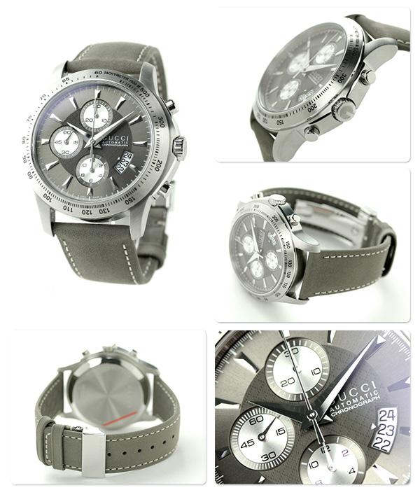 Gucci G thymeless chronograph men watch YA126241 GUCCI gray