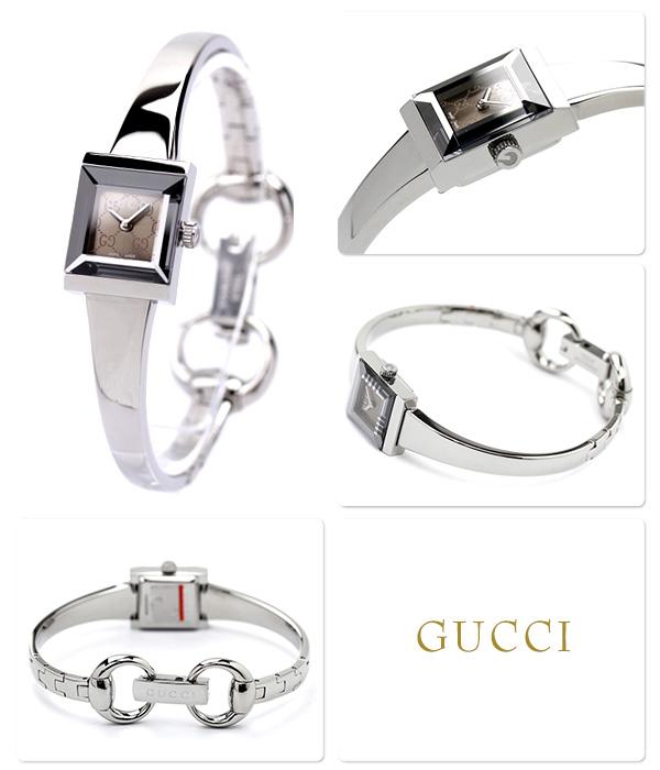 Gucci clock Lady's G frame brown GUCCI YA128510
