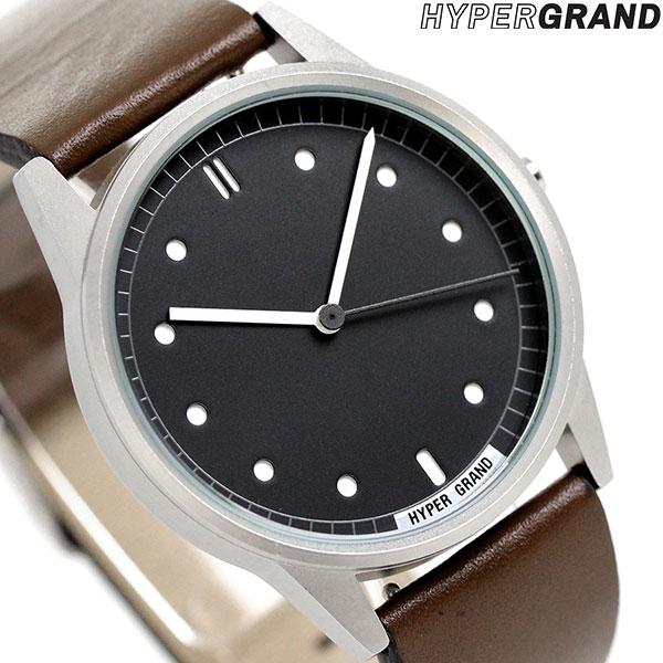 ハイパーグランド HYPERGRAND ゼロワンナトー 38mm CW01SBBRW メンズ レディース 腕時計 時計