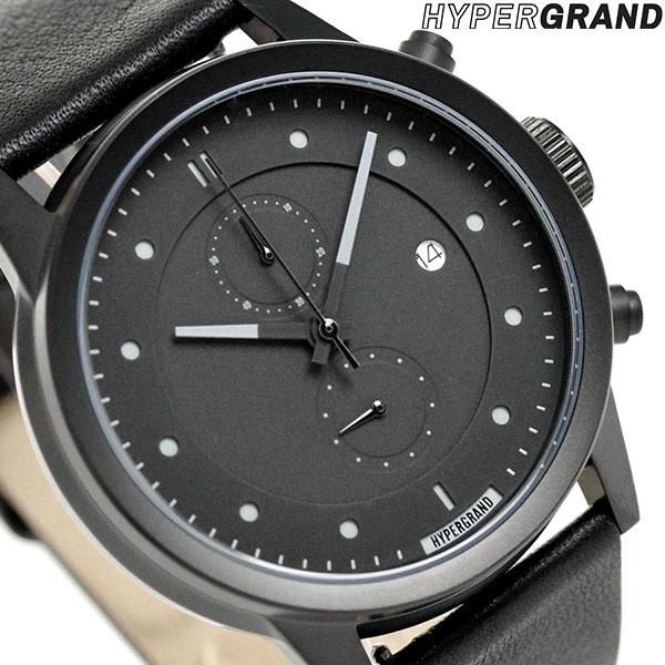 ハイパーグランド HYPERGRAND マーベリック 44mm クロノグラフ CWC4BBBLK 腕時計 時計