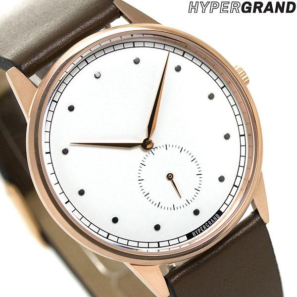 ハイパーグランド HYPERGRAND シグネチャー 40mm CWSGRWBRW メンズ レディース 腕時計 時計