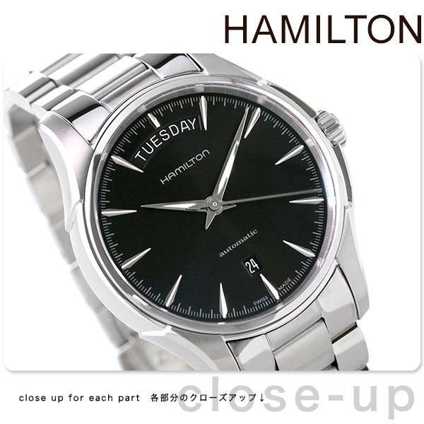 Hamilton Hamilton Jazzmaster Day Date Jazz Master Day Date Automatic Mens Watch Black H32505131