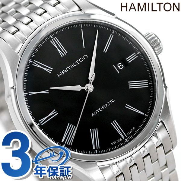 HAMILTON Hamilton VALIANT AUTO ヴァリアントオートローマンインデックスメンズ watch metal black H39515134