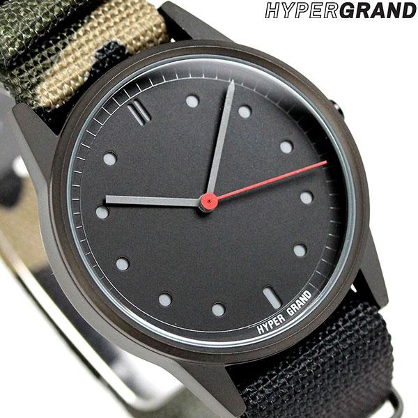 ハイパーグランド HYPERGRAND ゼロワンナトー 38mm NW01JUNG メンズ レディース 腕時計 時計
