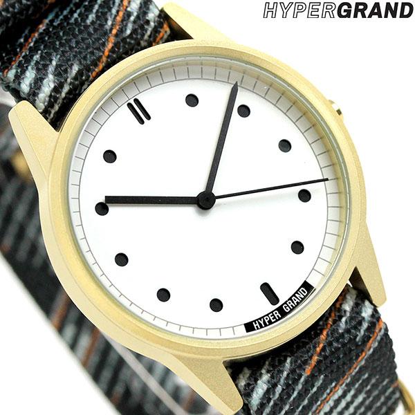 ハイパーグランド HYPERGRAND ゼロワンナトー 38mm NW01RAPI メンズ レディース 腕時計 時計