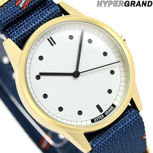 ハイパーグランド HYPERGRAND ゼロワンナトー 38mm NW01VIEN メンズ レディース 腕時計 時計
