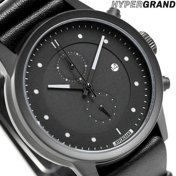 ハイパーグランド HYPERGRAND マーベリック 44mm クロノグラフ NWM4BLKL 腕時計 時計