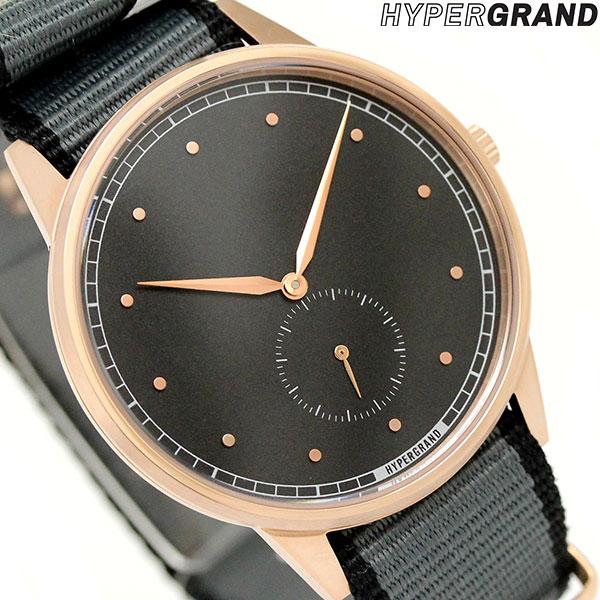ハイパーグランド HYPERGRAND シグネチャー 40mm NWSGRBGREY メンズ レディース 腕時計 時計