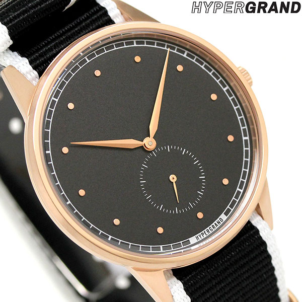 ハイパーグランド 時計 HYPERGRAND シグネチャー シグネチャー メンズ 40mm NWSGRBMONO メンズ レディース 腕時計 時計, カジカワムラ:6c055bdd --- bulkcollection.top