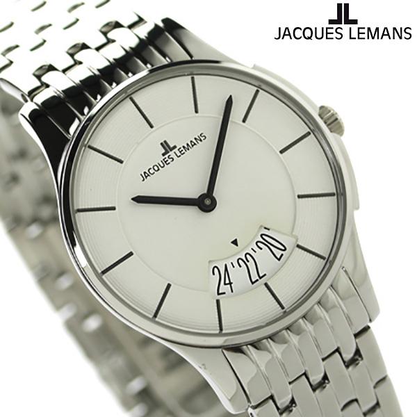 ジャックルマン ロンドン レディース 腕時計 1-1822B JACQUES LEMANS ホワイト 時計