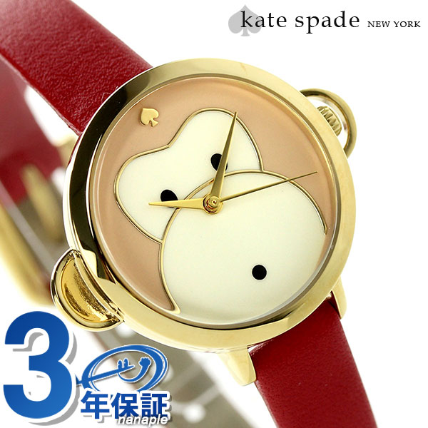 Kate spade New York metro mini-watch KSW1066 KATE SPADE NEW YORK monkey X red