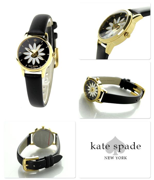 凯特黑桃纽约地铁小手表KSW1085 KATE SPADE NEW YORK花×黑色