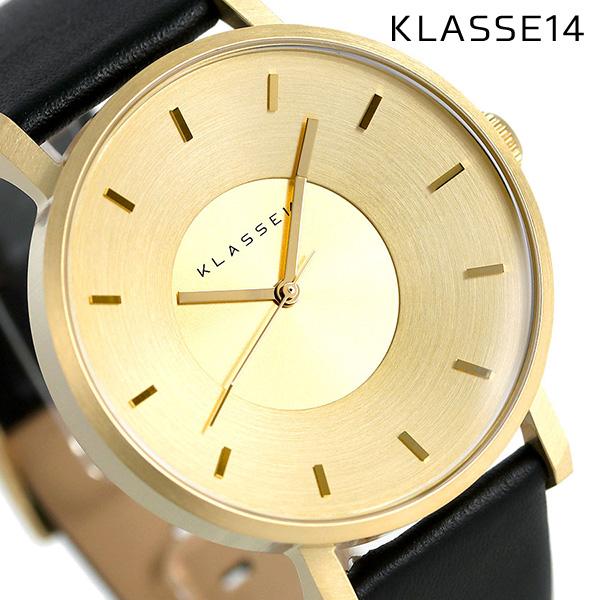 KLASSE14 クラス14 ヴォラーレ 42MM ユニセックス 腕時計 VO14GD001M ゴールド×ブラック