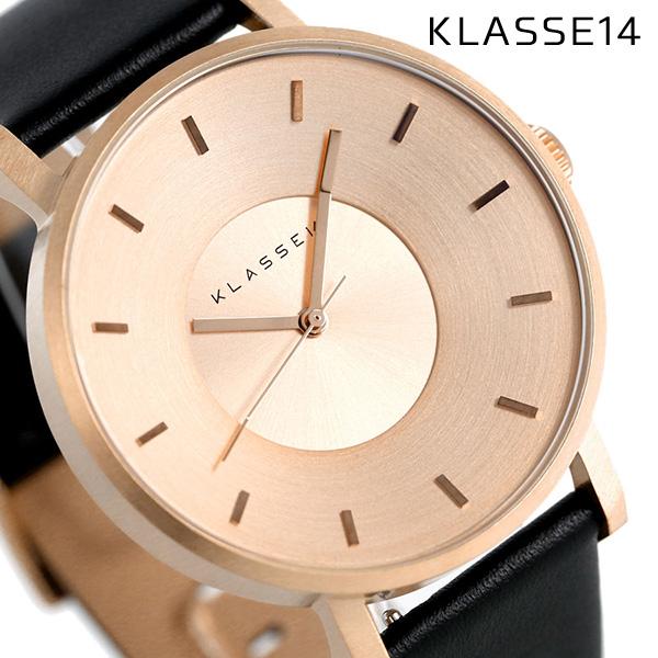 KLASSE14 クラス14 ヴォラーレ 42MM ユニセックス 腕時計 VO14RG001M ローズゴールド×ブラック