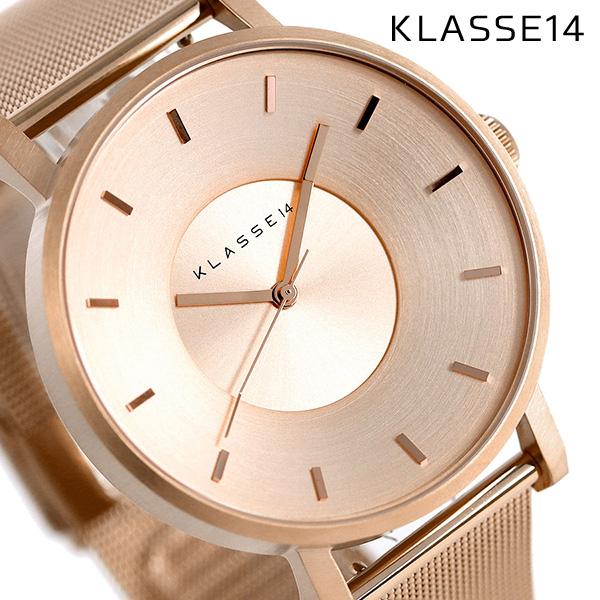 KLASSE14 クラス14 ヴォラーレ 42MM ユニセックス 腕時計 VO14RG003M ローズゴールド