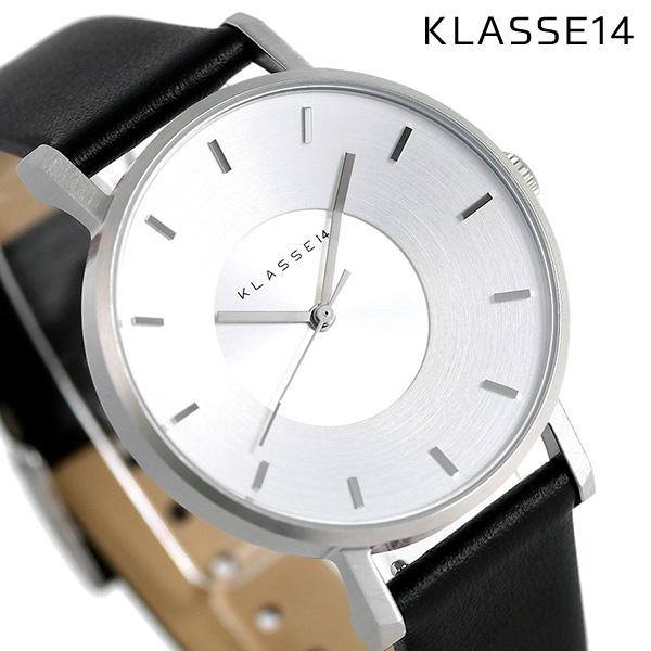 KLASSE14 クラス14 ヴォラーレ 36MM ユニセックス 腕時計 VO14SR001W シルバー×ブラック