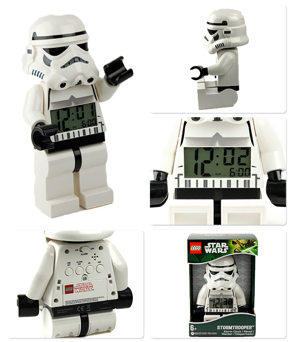 nanaple   Rakuten Global Market: Lego clock alarm clock storm true ...