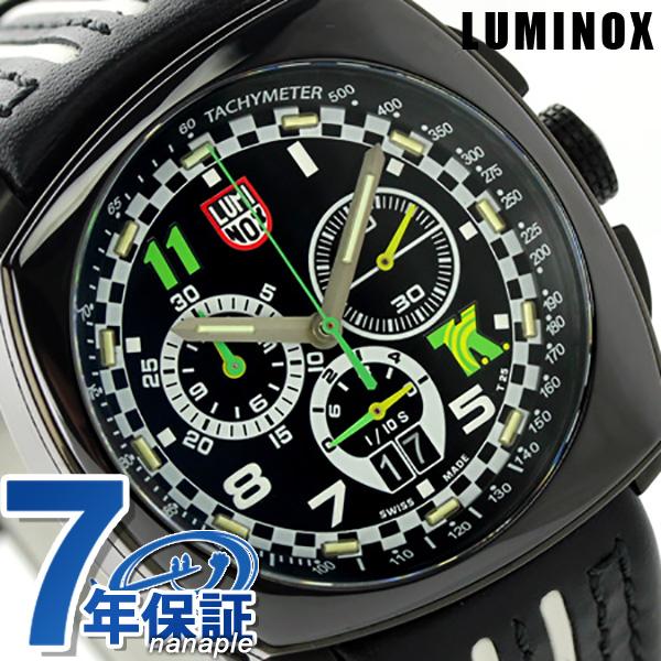 ルミノックス 1140シリーズ 腕時計 LUMINOX トニー カナーン クロノグラフ 1142 メンズ クオーツ ブラック×ホワイト 時計【あす楽対応】