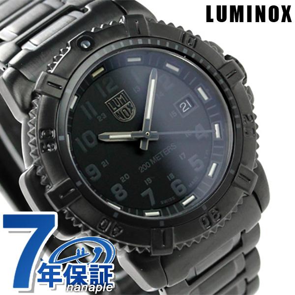Lumi Knox watch navy Shields color mark series day-trading Dis blackout LUMINOX 7252 .bo