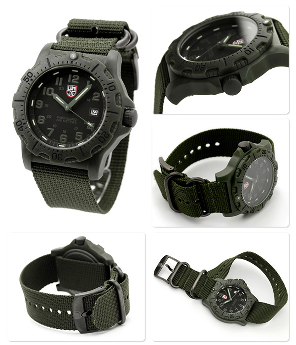 Luminox field sport watch-out green nylon belt LUMINOX 8817.GO