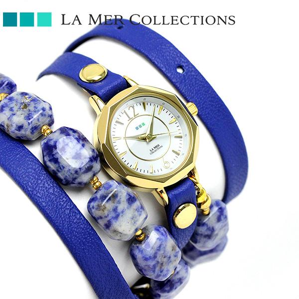 ラメール コレクション レザー レディース 腕時計 LMDEL1001 LA MER メキシコ 時計【あす楽対応】