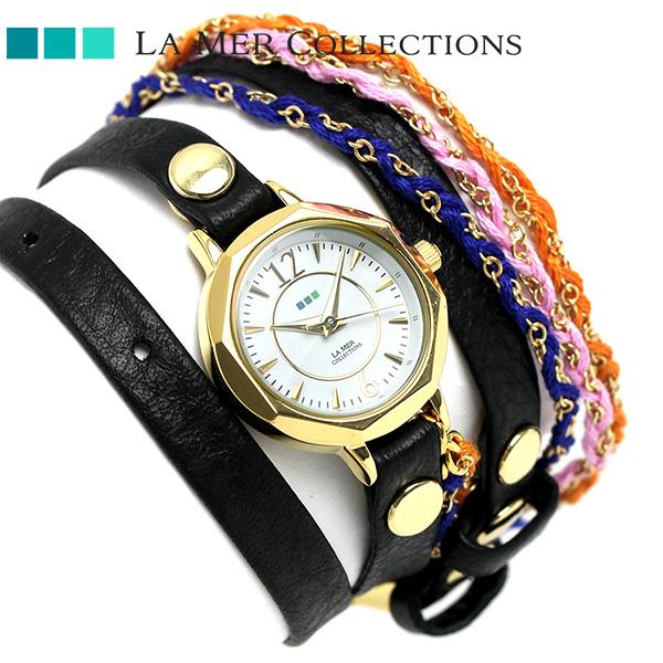 ラメール コレクション レザー レディース 腕時計 LMDEL1004 LA MER メキシコ 時計