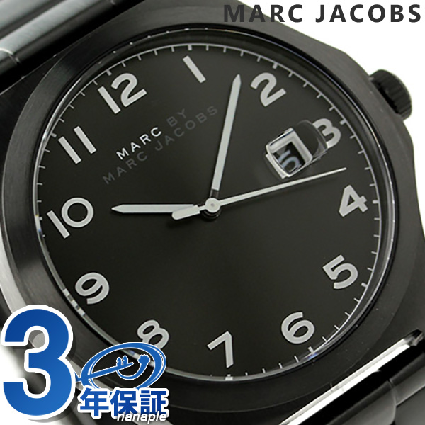 nanaple rakuten global market mbm5086 marc by marc jacobs mbm5086 marc by marc jacobs quartz black jimmy mens watches mark by mark jacobs