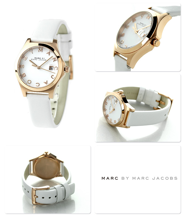 makubaimakujieikobusuzasurimu 31mm MBM9057 MARC by MARC JACOBS手表全部白