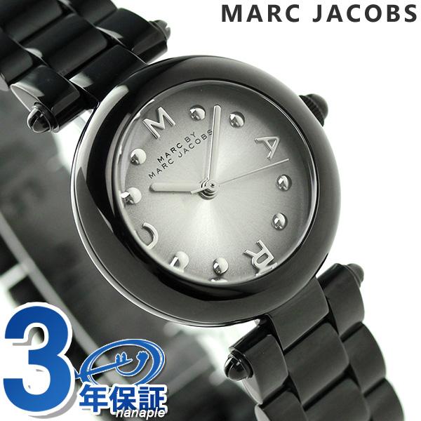 makubaimakujieikobusudotti 26 MJ3453 MARC by MARC JACOBS手表灰色银子×黑色