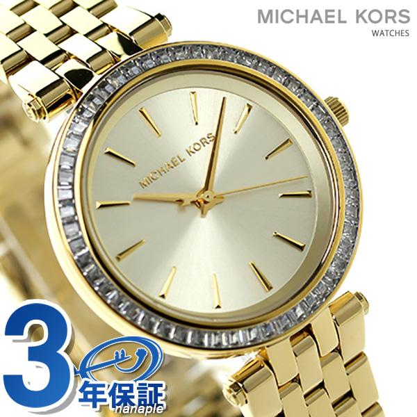マイケル コース ミニ ダーシー クリスタル レディース MK3365 MICHAEL KORS 腕時計 ゴールド 時計【あす楽対応】