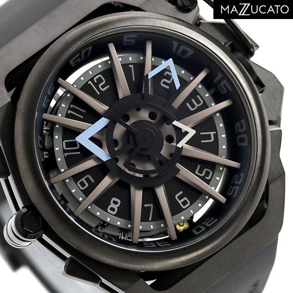 マッツカート リバーシブル デュアルムーブメント メンズ 腕時計 RIM-03-GY536 MAZZUCATO リム 48mm 時計