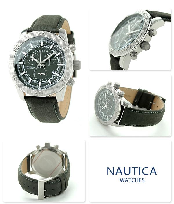 Nautica NST 11 quartz men watch NAI16527G NAUTICA gray
