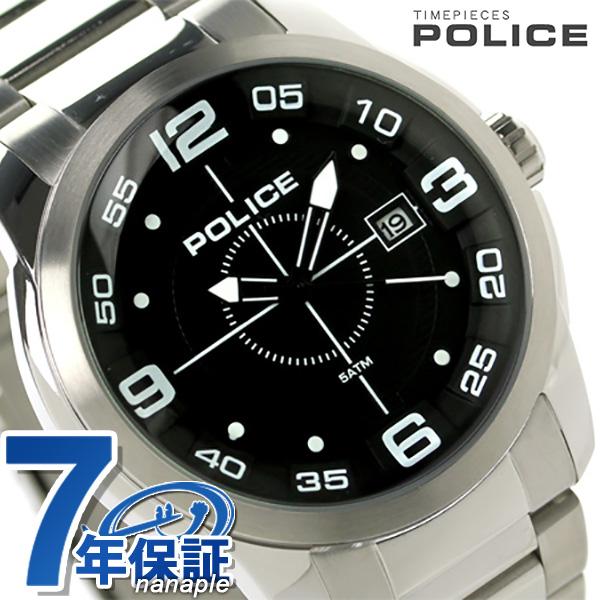 ポリス スナイパー クオーツ メンズ 腕時計 PL14386JS-02M POLICE ブラック 時計【あす楽対応】