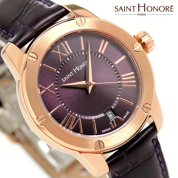 サントノーレ アートコード レディ 35mm スイス製 レディース SN7510308PRR SAINT HONORE 腕時計 時計