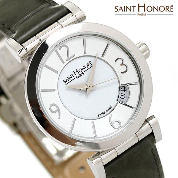 サントノーレ オペラ スモール 33mm スイス製 レディース SN7520111BBN SAINT HONORE 腕時計 時計