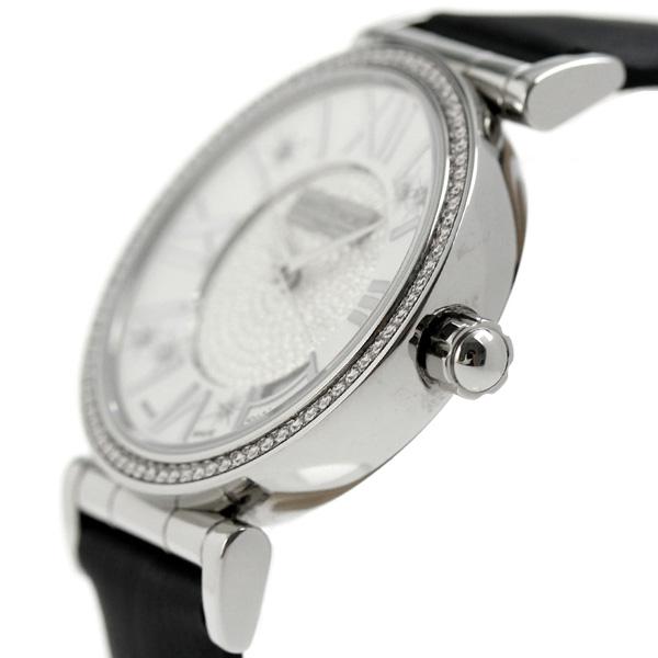 fd89bda178 正規品 サントノーレ オペラ スモール 33mm ダイヤモンド スイス製 クオーツ レディース 腕時計 SN7520121PARDN SAINT  HONORE OPERA SMALL 33mm アナログ ブラック ...
