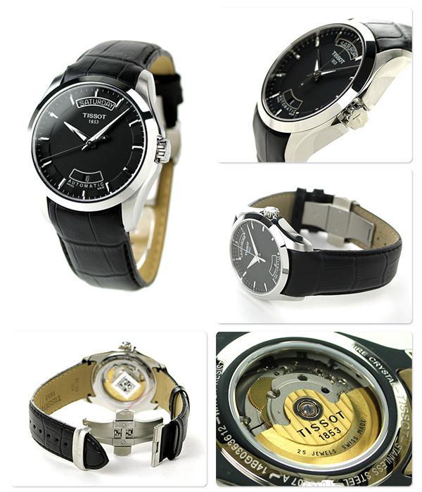 tiso T-torendokuchurieotomachikku T035.407.16.051.00 TISSOT手表黑色
