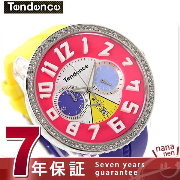 tendensukureijikurisutarukuronogurafu TG460408 TENDENCE手表石英多色