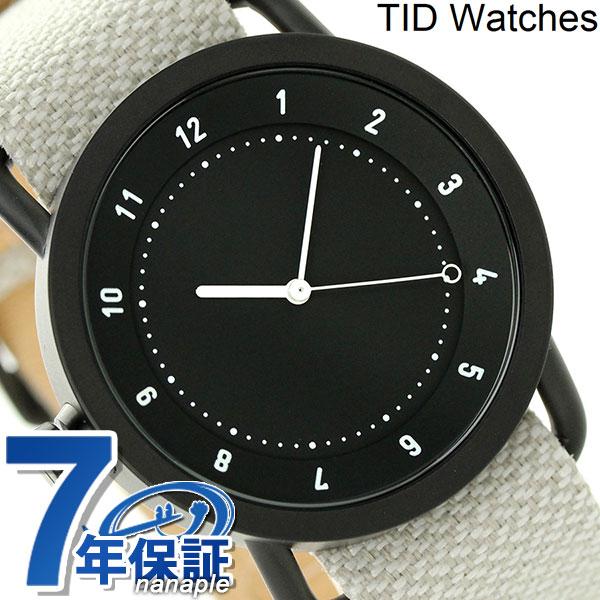 TID watches 時計 No.1 トウェインベルト 40mm TID01-TW BLACK/SAND ティッド ウォッチズ 腕時計